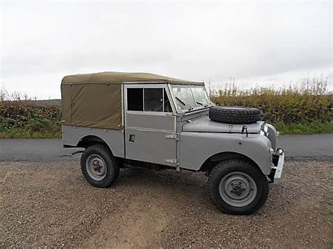 Ted's Land Rover 80
